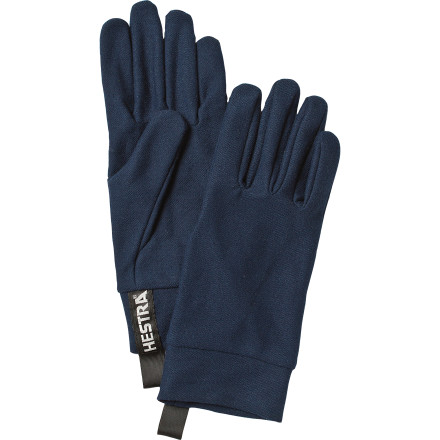 Beef up your gloves or mittens with a pair of Hestra Touch Glove Liners. In addition to providing warmth, these liners are compatible with any touch screen so you can post about how good the powder is from the lift. - $27.96