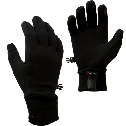 You like the versatility offered by layering under a shell rather than sweating it out in heavy insulation, and the Seirus Power Stretch Glove Liner is just what you need. Sleek and stretchy fabric fits like a second skin while wicking moisture so you arent grabbing brews at the lodge with clammy fingers. - $24.95