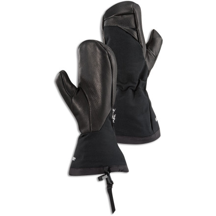 When you're laying down lines in high elevations, your fingers can get cold and lonely. The Arc'teryx Women's Zenta AR Mitt wraps your fingers up in Gore-Tex XCR so they stay warm, cozy, and happily all together. - $169.95
