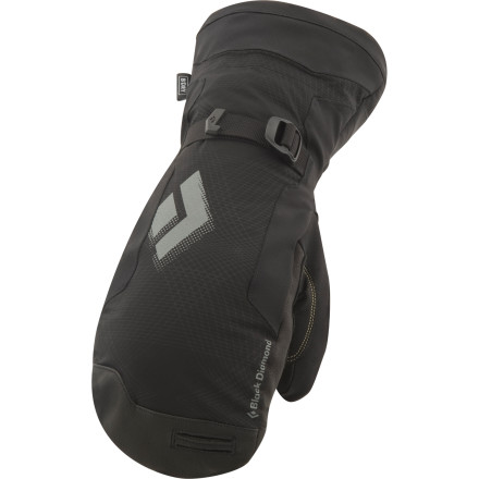 Thanks to its BDry waterproof insert and PrimaLoft One insulation, the the Black Diamond Womens Mercury Mitten keeps your digits warm and dry during those sub-zero days in the mountains. - $114.95