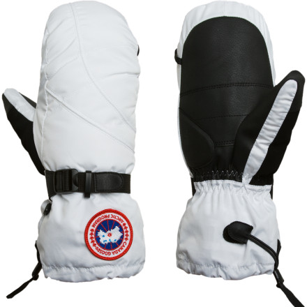 It's a fact that mittens are going to keep your hands warmer than gloves, and down mittens are the warmest of all. Keep your fingers happy in nasty winter weather with the help of the Canada Goose Women's Down Mitten, which surrounds your hand in soft, high-loft goose down. - $124.95