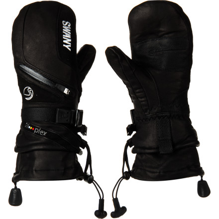 Find out firsthand how Swany got its reputation for making quality handwear when you don the Women's X-Cell II Mittens. Built with a LeatherShield outer and lined with Swany's proprietary Dyna-Therm, these mittens offer a unique blend of comfort and protection from the winter elements. Built-in handwarmer pockets are protected by AquaZip zippers, so you can get an extra boost of heat on days that you refuse to let sub-zero temps keep you on the couch. - $133.95