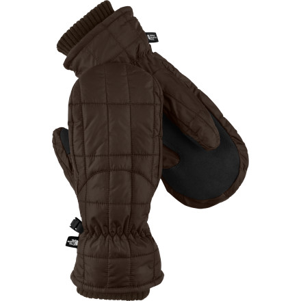 You don't have to choose between style and function when it comes to keeping your hands from freezing. The North Face Women's Metropolis Mitten uses PrimaLoft and Heatseeker insulation to keep your paws warm while and an urban design to keep your whole outfit dialed. - $38.97