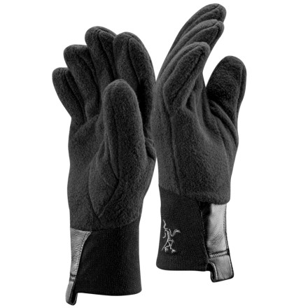 When you want light weight and breathability it often means that you have to sacrifice warmth. That's not the case with the Arc'Teryx Delta AR Glove. The Delta is made with a pill-resistant, high-loft shearling that works well as insulation for a shell glove or as a stand-alone glove on cold, dry days. Aggressively articulated fingers provide exceptional dexterity, and slim-fit stretch cuffs give you a snug fit with added bulk. - $17.48