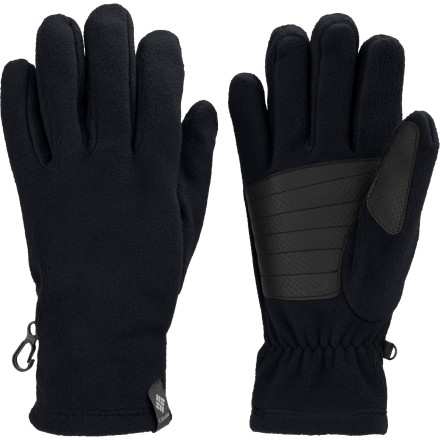 Ski For easy-going, cozy warmth as you go about your business on a chilly winter's day, pull on the Columbia Men's Thermarator Glove. The breathable fleece and grippy palm make this an ideal choice for shoveling, cross-country skiing, or around-town wear. - $22.46