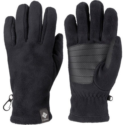 Ski Break out the Columbia Women's Thermarator Gloves, grab some sunscreen, and get ready for a sloppy day on the slopes. Ideal for spring skiing or layering beneath your mittens for extra warmth, these fleece gloves give you just the right amount of warmth and protection for a bluebird day. - $29.95