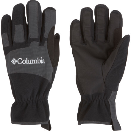 Ski Fleece glove are comfortable, but they often can't stand up to bitter winter weather; keep your hands warmer without sacrificing the breathability and fuzzy feel you enjoy and step up to the Columbia Men's Eolus Glove. This soft fleece glove features the Omni-Wind Block windproof membrane to keep the cold breezes out, as well as Omni-Heat thermal reflective lining to prevent body heat you generate as you ski, snowshoe, or shovel from getting away. - $35.97