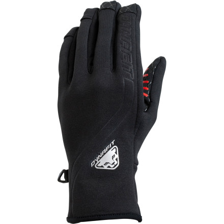 When you're speedy, you want only a lightweight glove, like the Dynafit Speed Glove, equipped with the essentials: grip, anatomic fit, and fleecy warmth. Anything else just weighs you down. - $22.72
