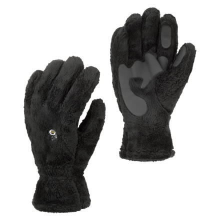 Reverse evolution when you pull on the fleecy warm Mountain Hardwear Mens Monkey Glove. Made with high-lofting Monkey Phur fleece, this toasty glove works alone or as a liner under a waterproof shell. Welded palm patches give you some added grip and durability. - $17.97