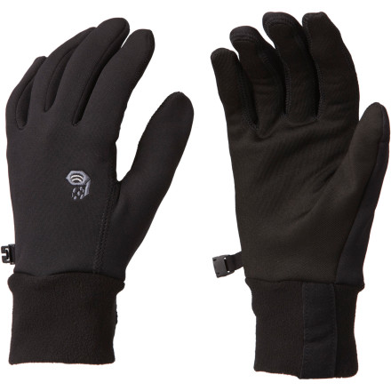 Camp and Hike Running, climbing, or hiking through cold weather would be more comfortable if you had the stretchy fleece of the Men's Stimulus Stretch Glove covering your hand. Mountain Hardwear gave this glove a fit that hits all the right spots for cold-weather athletes and, as a bonus, the fingers have a coating that allows you to operate your touchscreen phone without having to go bare-handedscore! - $44.95