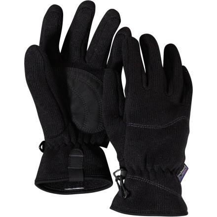 Sports You slip on a sweatshirt or fleece to keep your body toasty, so why not slip on the Patagonia Women's Better Sweater Glove when the fall chill gets your hands chilly' The smooth fleece slips on like your favorite sweatshirt and matches while you cheer on your football team or sip on hot cocoa next to a campfire. - $23.40