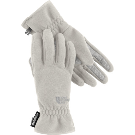 Ski Warm and windproof, The North Face Women's Pamir WindStopper Glove is just the thing for a Saturday morning snowshoe or an afternoon of holiday shopping in unseasonably cold temps. Gore WindStopper sandwiched between two layers of soft and cozy fleece provides protection from bitter winds, while a weather-resistant DWR finish keeps you dry when things start to fall out of the skies. A supple Amara palm with a silicone gripper pattern helps you hold on to a steering wheel or ski poles as you navigate icy streets or snowy cross-country trails. - $35.72