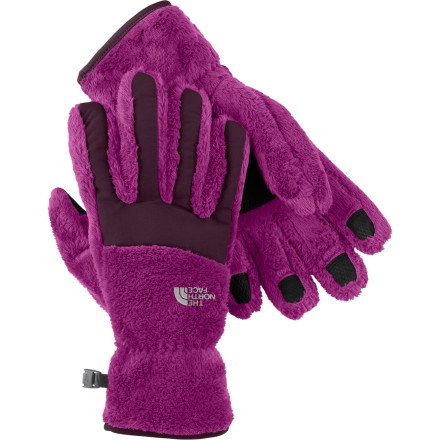 Ski Looks like The North Face turned the fuzziest, furriest fleece ever into the Women's Denali Thermal Glove. The real danger is that you won't ever want to take it off. - $22.72