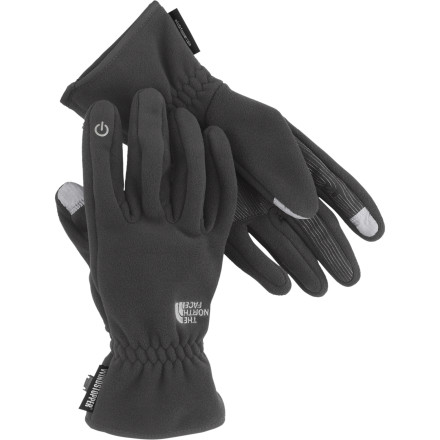 Tired of trying to fidget with the dial on your music player when you're wearing bulky gloves' Accidentally dialing 'gramdma' on your phone when you meant to select 'girlfriend'' Grab The North Face Etip Pamir WindStopper Glove and say goodbye to those feeble-finger blues. - $64.95