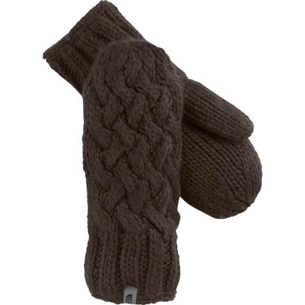 It's a rare that you find winter wear that manages to look elegant and keep you warm and comfy. The classic style of The North Face Women's Cable Knit Mitten gives you a refined look while the micro fleece liner keeps your hands feeling great. - $39.95