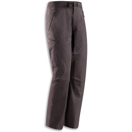 The Arc'Teryx Gamma SL Hybrid Pant uses a combination of fabrics to protect you from moisture and abrasion while allowing your body to regulate its own temperature and stay dry. - $198.95