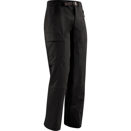Arc'teryx beefed up its Gamma AR pant with Keprotec patches at the instep to create the Men's Gamma Guide Softshell Pant, a backcountry-ready pant that's suitable for professional use. What's more, when happy clients invite you out to dinner, the pant's clean lines and wear-resistant  fabric make it just right for the classier joints in town. - $234.95
