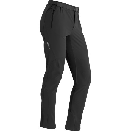 Marmot crafted the Men's Orion Softshell Pant for those who put their pants through hell and need something a little tougher for burly approaches or rugged ascents. M3 Softshell material shrugs off abrasion and light precipitation, stretches, and breathes. Backpackers and mountain travelers can finally turn to technical fabrics without giving up comfort and durability. - $144.95