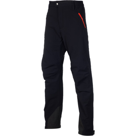The Stoic Men's Bertol Guide Softshell Pant offers uncompromising durability, and that's what makes it truly great for alpine pursuits. This pant was inspired by the rugged and sometimes unpredictable route to the Bertol Hut in the Swiss mountains, so the pant is simple, tough, and versatile. Fire up a skin track during the winter or haul yourself through rocky boulders in early spring, and this pant will shrug off  your abusive trekking with ease. - $81.95