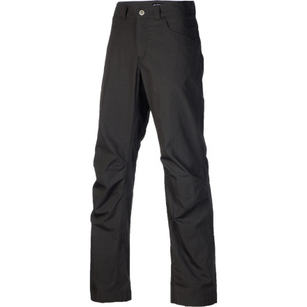 A true rebel wouldn't wear pants at all, but the Arc'teryx Renegade Pant lets you release your inner self without garnering you citations for indecent exposure. A relaxed fit and comfortable canvas make these the ideal lounging pants, and a classic pocket setup keeps your essentials at the ready when you're grilling out or relaxing in the backyard. - $98.95