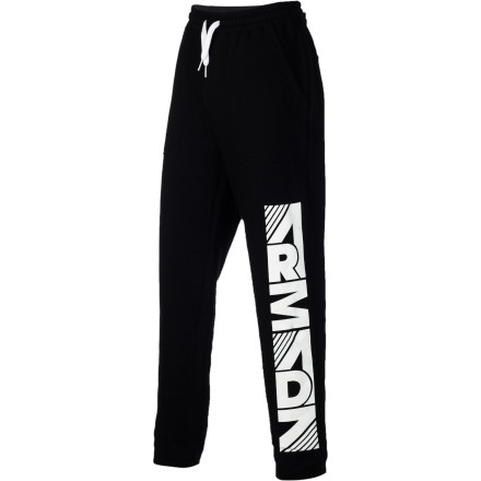 Ski After you peel off your skiing rags, soothe your muscles in the hot tub, and eat a mountain of nachos, it's time to slip on the Armada Bullpen Fleece Pant and relax like a pro. - $29.22