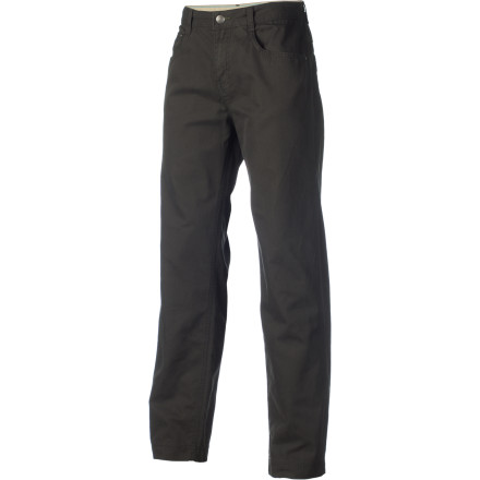 With a tough-as-nails look and an ultra-soft cotton touch, the Columbia Men's Ultimate Roc Five Pocket Pant isn't afraid to show its softer side yet is always ready to get down to business. - $34.97