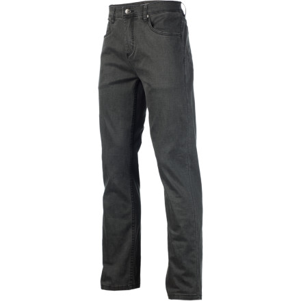 Horny Toad crafted its Men's Jaywalk Pant for guys who want a pant with a little more room to move around in during everyday life. A touch of spandex gives the smooth cotton fabric a little stretch, and the angled back yoke keeps the crotch and seat from binding when you sit or move around. - $41.22