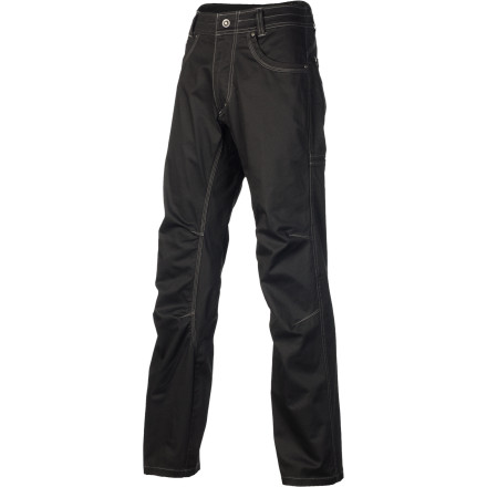 Camp and Hike Rarely do you find a pant that doubles as your go-to hiking lower body cover and casual attire; the KUHL Men's Outlaw Pant is as rare as an honest lone rider. True to the brand's smooth name, this pant's cotton and spandex blend doesn't restrict breathability or movement, which makes the Outlaw an import piece for any man who plans to take to the trails in sturdy boots or to the asphalt on a steel horse. - $55.22