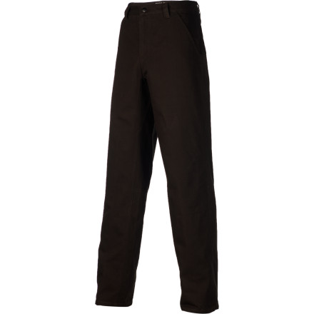 Comfort is built right into the DNA of the Mountain Hardwear Men's Cordoba Gene Pant. The all-cotton Basalting canvas will only get softer and more pliant with each washing, while the full-length inseam gusset and articulated knees give you total mobility. - $57.95
