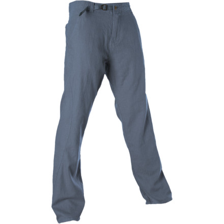 Climbing Constructed with hemp, organic cotton, and a dash of spandex for extra stretch, the prAna Kelton Pant dispense a relaxed, mellow feel as you climb to wicked heights. - $62.97