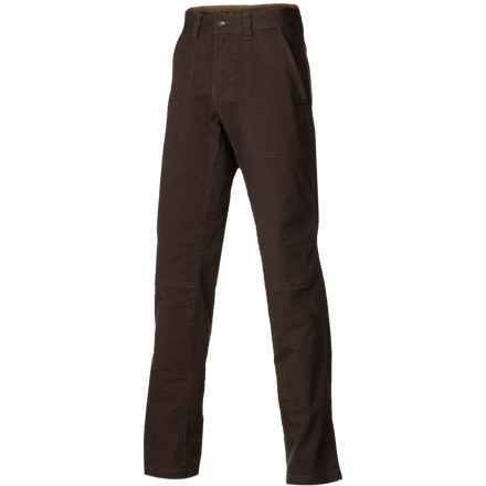 Climbing Wear the prAna Descent Pant when you want laid-back style and enough flex to to get your legs over logs, boulders, and any other obstacle you decide to climb. - $42.87