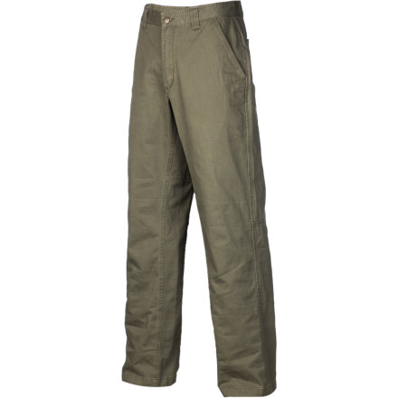 Camp and Hike Whether you're crimping down on quintessential Tuolumne knobs, backpacking through the Sierras, or taking care of some yard work, the Royal Robbins Men's Trail Chino Pant is suited to the task. Tuolumne Twill cotton is brushed for a soft feel, and the full gusseted crotch allows for unrestricted movement. Plus, triple stitching at high stress points ensures that these pants have the ability to stand up to the toughest trails. - $30.22