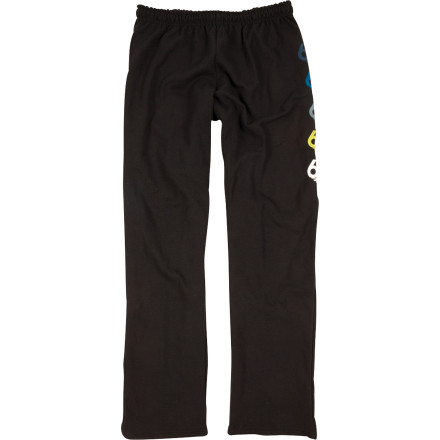 The post-shred hot tub session is a must, but since the tub is at your buddy's house, you have to figure out a way to keep your man parts from freezing during the walk there and back. Solution: the 686 Wreath Sweatpants. - $28.00