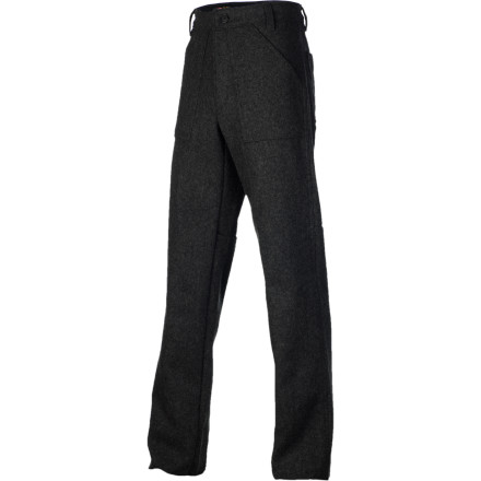 For chilly days on the job site or cool nights in a European city, there's the warm and durable yet breathable and comfortable Stormy Kromer Mercantile Men's Bunkhouse Trouser Pant. - $159.95