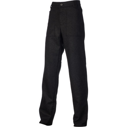 Head to the job site earlier, suck oysters in a damp oceanfront shack longer, and breathe in the crisp ocean air from the deck of an Alaskan cruise ship without worry; you chose to wear the warm Stormy Kromer Mercantile Men's Kromer Trouser Pant today. - $109.97