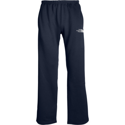 Rise above the competition with The North Face Surgent Pants. These roomy fleece pants help wick moisture away from your body and regulate your temperature for optimal performance. The Surgent Pants also include an antimicrobial Sanitized Silver salt treatment, so you're pants won't be cloaked in that bottom-of-the-gym-bag smell all the time. The anti-pilling feature will keep them looking sharp and feeling soft for years to come. - $49.95
