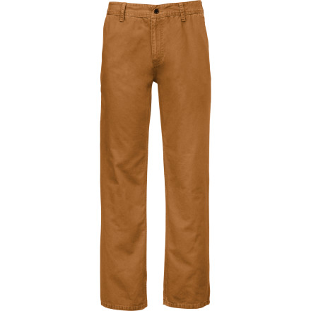 The canvas Lostwood Pant from The North Face was made to be taken out into the smokey forests for a night of stories and strong cider next to a glowing campfire. - $45.47