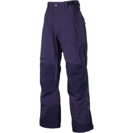 Ski Featured in Backpacker Magazine and Telemark Skier, the Men's Magnum BC Pant may be FlyLow Gear's most versatile winter pant. On the inside, this pant has a brushed lining to aid moisture transfer away from your skin and, on the outside, the shell material is stretchy and tough as nails. A nearly full-zip outer vent allows you to take these pants off even if you can't take your boots off. This is a pant targeted at the turn-earning, ski-touring, and knee-dragging crowds. - $148.47