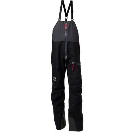 Snowboard Climbing mountains can be really tough. That's why Norrna decided to make its Men's Trollveggen Bib Pant tougher. Gore-Tex Pro Shell 3 Layer fabric can take a real beating at the times when you have no time to think about what your pants are doing. - $548.90