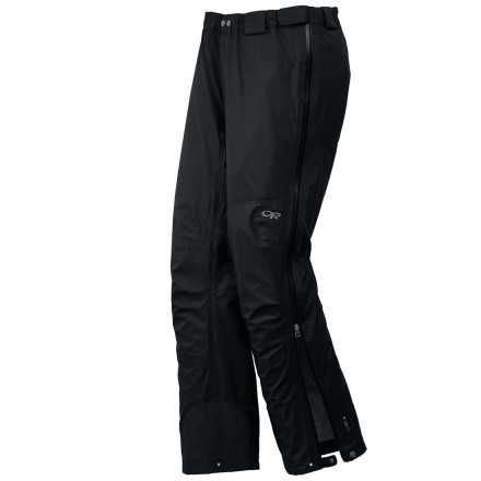 Ski You're committed to making vertical mileage on this chilly morning, and the Outdoor Research Pant is committed to keeping you comfortable during the ascent. Built with ultralight, three-layer, waterproof breathable Pertex Shield fabric, the Paladin shrugs off nature's attempts to soak your bones. - $219.95