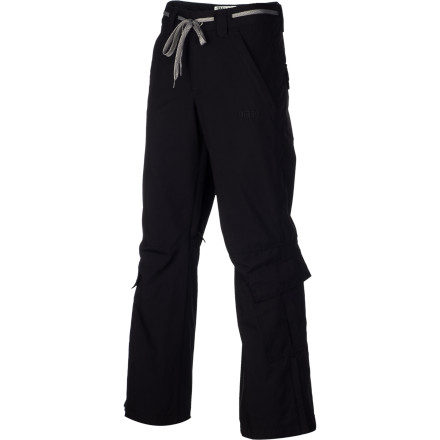 Ski Tie the Orage Men's Belmont Pant and get ready to shred. Yep, you heard it right: tie. The Belmont Pant adds street style to a hefty helping of waterproofing and key comfort features. - $79.98
