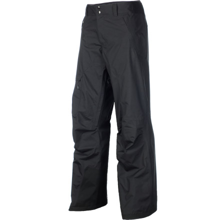 Snowboard Drop into the deep without feeling damp in your undies when you slip on the Patagonia Rubicon Pan. Its Deluge DWR coating and H2No membrane block out the snow as you plow through it, and a relaxed, articulated fit enable effortless shredding regardless of your board choice. - $161.85