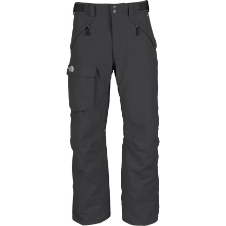 Ski Not into ski pants that fit like plumb-smugglers' Neither is The North Face Freedom Pant. This pant has a relaxed fit and a loose cut through the butt, thighs, knees, and cuffs. - $97.97