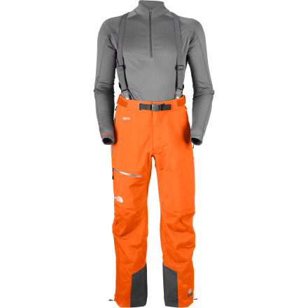 Ski When you're on an iceflow or post-holing up to the summit, the last thing you want to be distracted by is sweaty or soggy legs under your pants. The North Face Men's Point Five Pant uses 3L Gore-Tex Pro Shell to make sure your mind stays on the task at hand. - $244.27