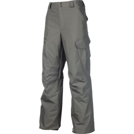 Snowboard The Burton Men's Poacher Insulated Pant with DryRide Durashell is your first line of defense against winter's icy blast. This waterproof breathable pant beats back the snow while hanging onto your body heat with 40 grams of Thinsulate insulation throughout. The articulated knees feel natural while riding and won't bind. - $67.48