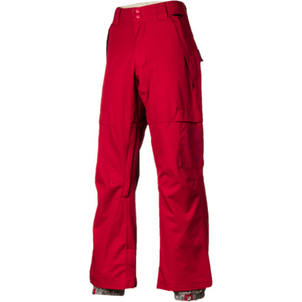 Snowboard The perfect everyday pant for lapping the park, the DC Banshee 13 Men's Snowboard Pant isn't bogged down with unnecessary bells and whistles. It's waterproof enough to handle a few tumbles without getting soaked and has plenty of room to move and layer underneath when the sun's not shining. - $84.00
