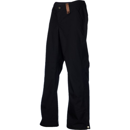 Snowboard The Holden Mountain Chino Pant offers a classic, clean-cut look, with stretch twill fabric for freedom of movement and a 10K-rated laminate for reliable protection against wind and wet. Holden's relaxed straight leg fit lets you tone down the super-baggy look without fully committing to 'tight pants' territory. - $84.98