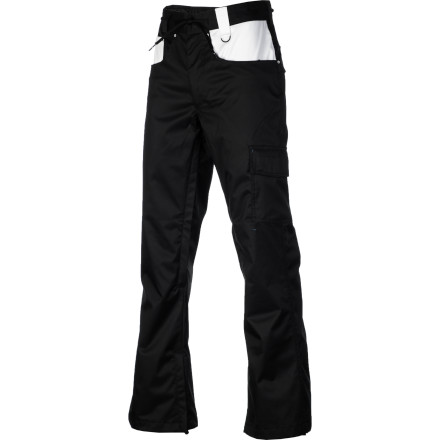 Snowboard The Nomis Men's Dennison Slim Pants shield you from the snow in streamlined style. Rock these pants when you want a clean look that is tailored and trim. On chilly days, slide these on over a warm under-layer to add extra warmth to the Dennison's solid moisture protection. - $89.98