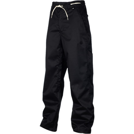 Snowboard The Nomis Foundation Chino Pant offers clean, classic style and no-frills function. If you don't care about bells and whistles and just want a solid, simple pant for park laps with the homies, the Foundation is a great place to look. - $69.98