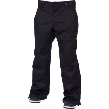Snowboard The 686 x Dickies Double Knee Insulated Pant features the classic double-knee work pant look that made Dickies a household name among blue-collar folks, and all the mountain-ready features you expect from an industry-leading outerwear brand. - $140.00